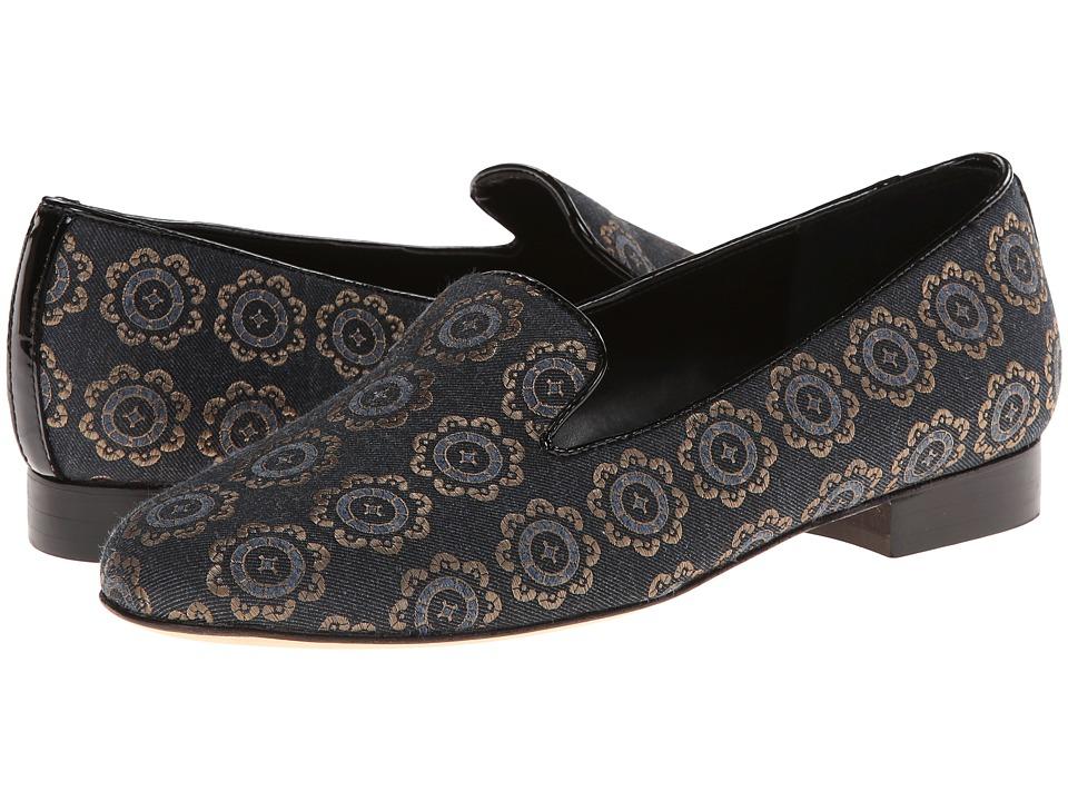 Vaneli - Arlen (Anthracite Domin Fabric/Black Mag Patent) Women's Slip on Shoes