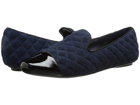 Vaneli - Brucie (Marine Quilted Suede/Black Patent/Black GG) Women's Shoes