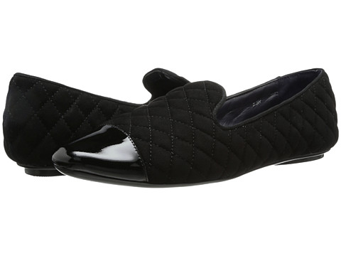 Vaneli - Brucie (Black Quilted Suede/Black Patent/Black GG) Women's Shoes