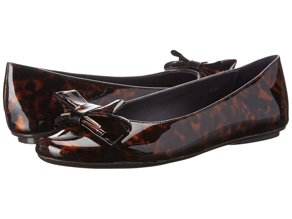 Vaneli - Bunny (Tortoise Patent/Dark Purple Leather Lining) Women's Shoes