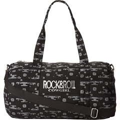 SALE! $14.99 - Save $15 on Rock and Roll Cowgirl Canvas Mini Weekend Bag (Black) Bags and Luggage - 50.03% OFF $30.00