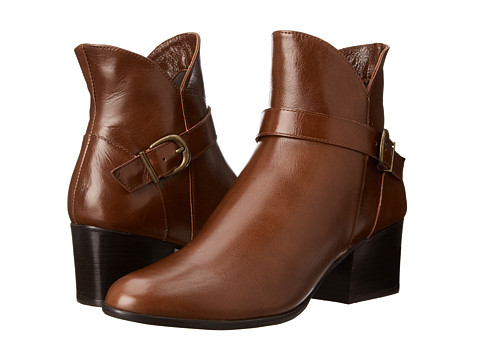 Womens Boots Vaneli Carly Nut Dream Calf/Mtch Zip/Ant Gold Buckle