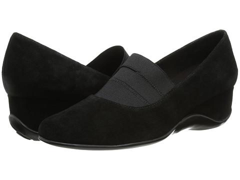 Vaneli - Chiara (Black Nival Suede/Mtch Elastic) Women's Shoes
