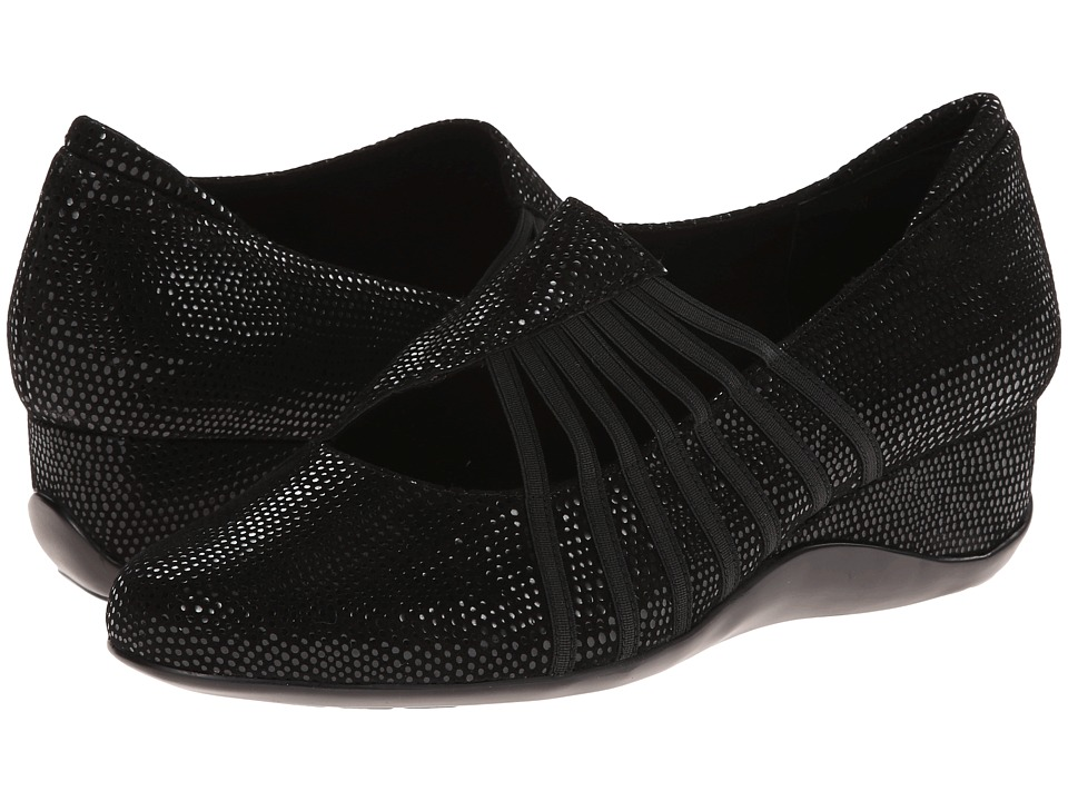Vaneli - Chineka (Black E-Print/Mtch Elastic) Women's Shoes