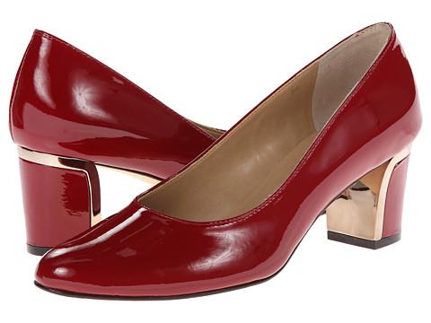 Vaneli - Diesis (Dark Red Mag Patent/Cappuccino S & L) Women's Shoes