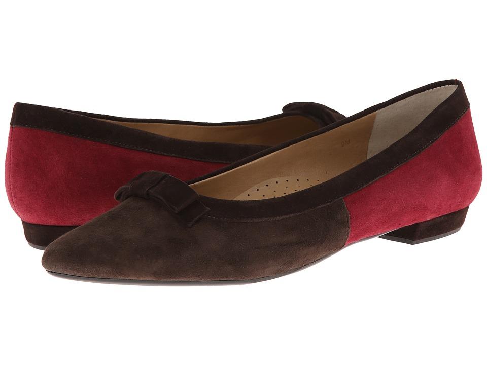 Vaneli - Garson (Fango Suede/Opera Red Suede/T.Moro Suede) Women's Shoes