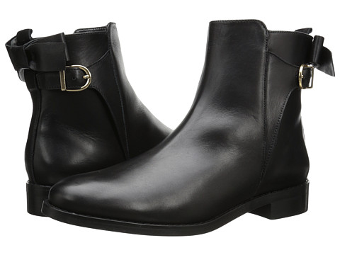 Vaneli - Genius (Black Mike Calf/Gold Trim) Women's Shoes