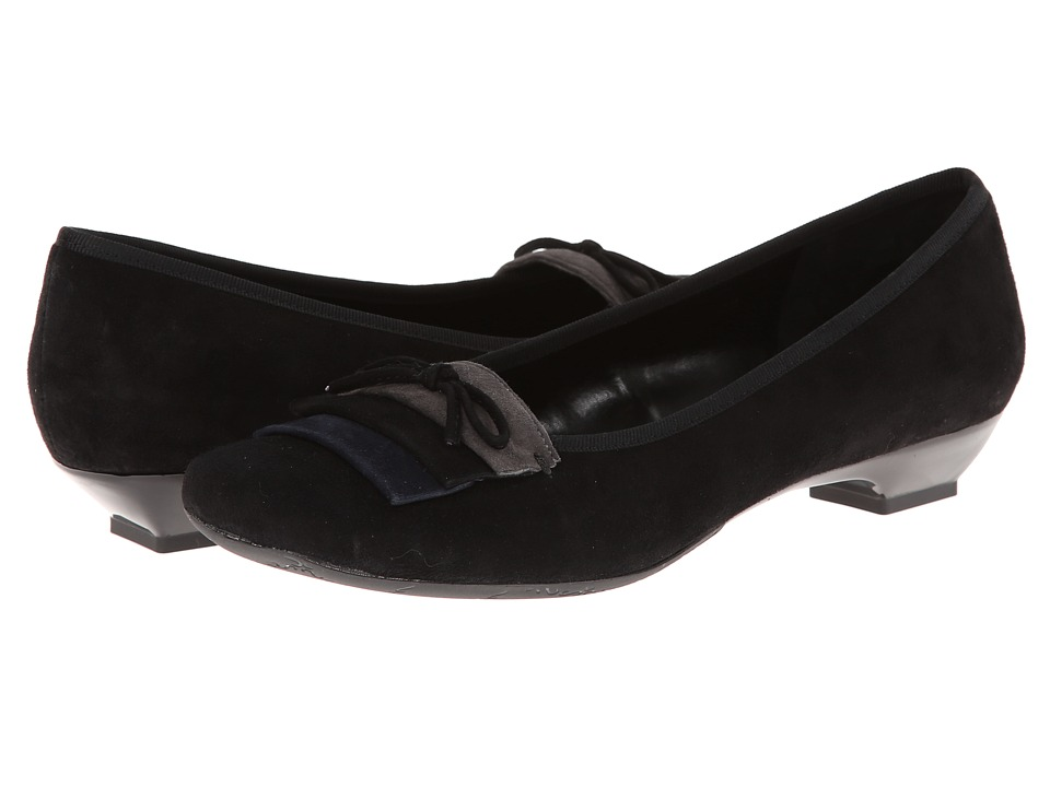 Vaneli - Gracia (Black Suede/Navy Suede/Grey Suede/Black GG) Women's Shoes