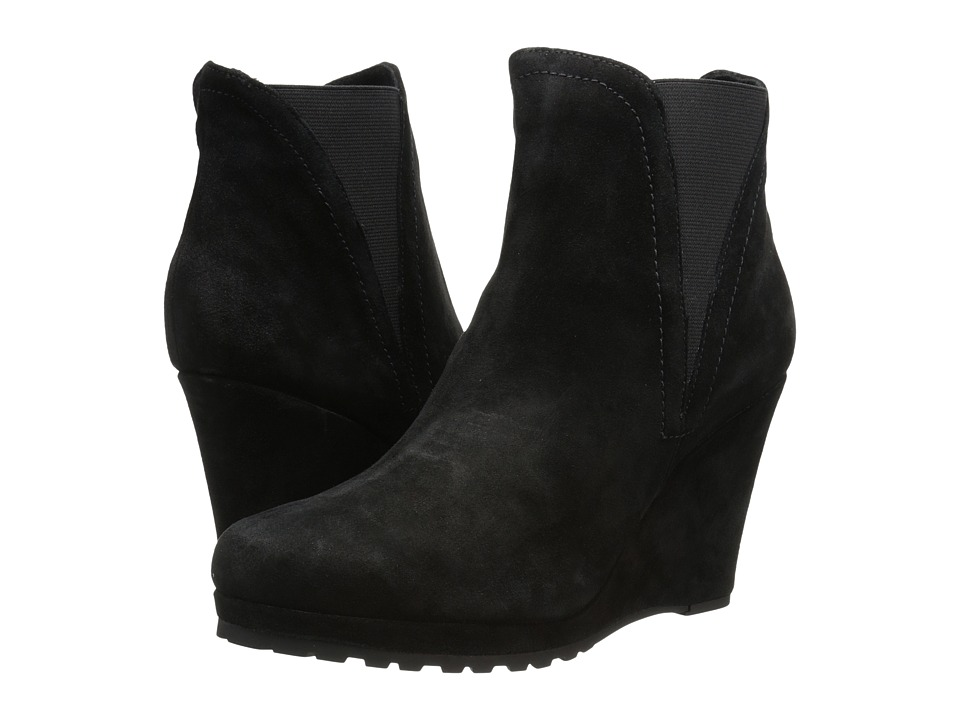 Vaneli - Jamilla (Black Nival Suede/Mtch Elastic) Women's Shoes