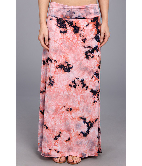 Chaser - Fold Over Maxi Skirt (Candy) Women's Skirt