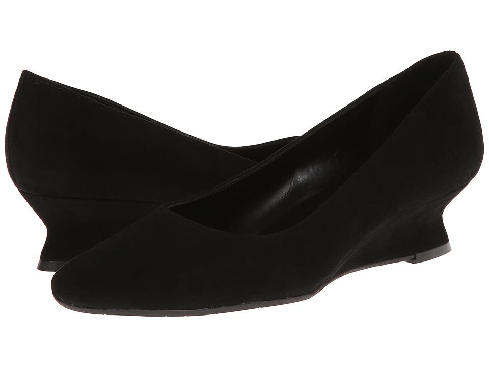 Vaneli - Kael (Black Suede) Women's Shoes