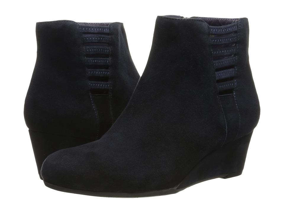 Vaneli - Laban (Navy Suede/Mtch Zipper) Women's Shoes