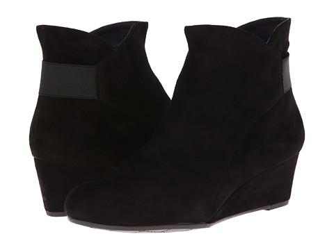 Vaneli - Lana (Black Suede/Black Elastic/Mtch Zip) Women's Shoes