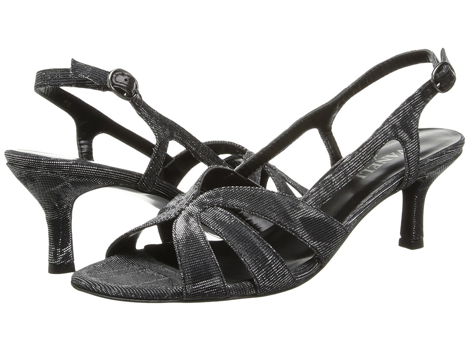 Vaneli Maeve (Black Nizza Fabric/Gunmetl Buckle) Women
