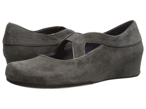 Vaneli - Marga (Grey Suede/Grey Nappa/Grey Elastic) Women's Shoes