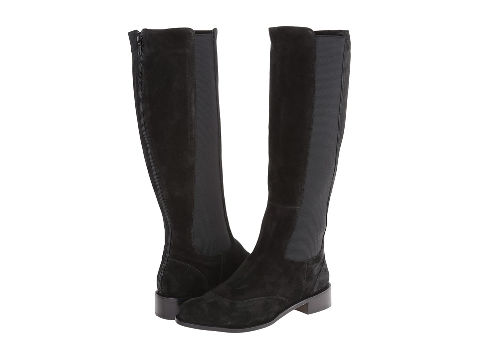 Vaneli - Rasha (Black Nival Suede/Mtch Elastic) Women's Shoes