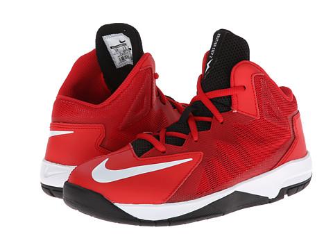Nike Kids - Stutter Step 2 (Little Kid) (University Red/White) Boys Shoes