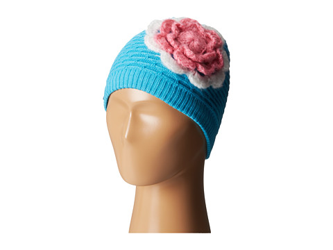 Spyder Kids - Bitsy Rosie Hat (Toddler/Little Kids/Big KIds) (Splash/Sorbet/White) Beanies
