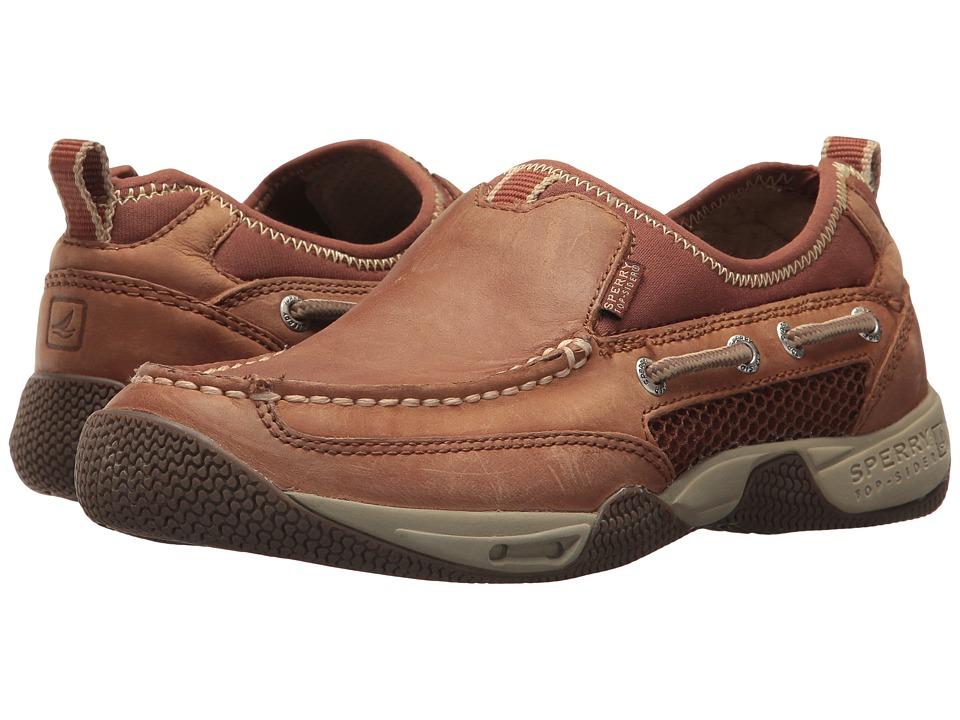 Sperry - Sea Kite Sport Moc S/O (Tan) Men's Slip on Shoes