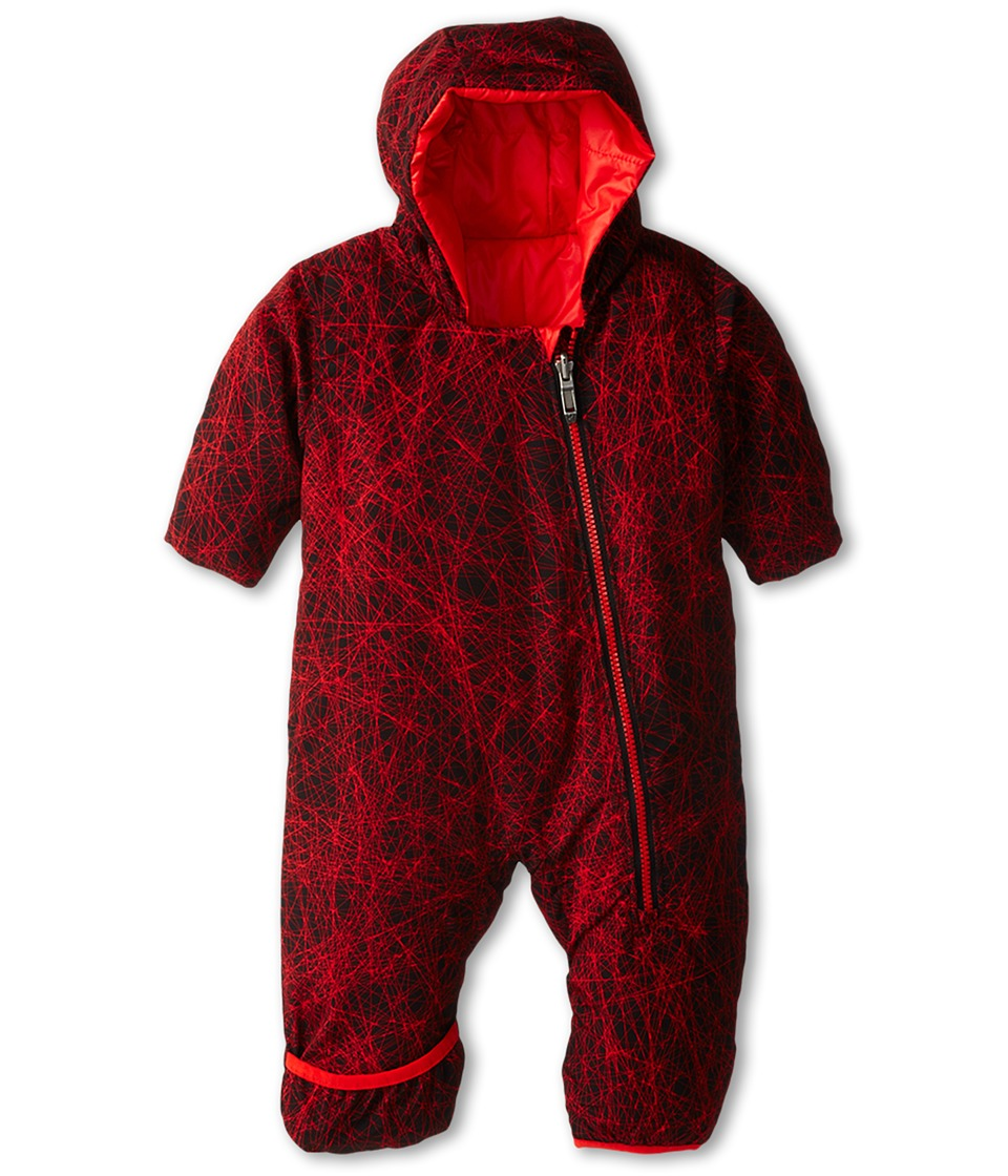 Spyder Kids - Yummy Print Bunting (Infant) (Volcano Tangled/Volcano) Girl's Jumpsuit & Rompers One Piece