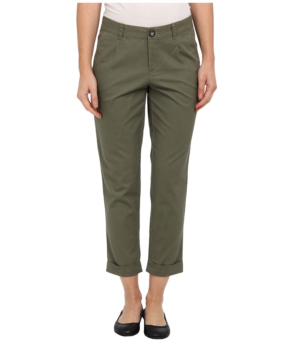 Dockers Misses - Autumn Herringbone Crop Pant (Camo) Women's Casual Pants