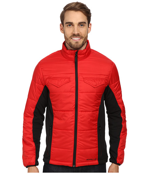 Merrell - Quentin Jacket (Cerise/Black) Men