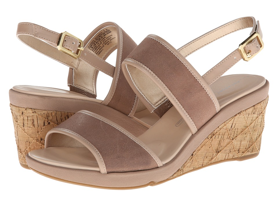 Rockport - Emmalina 2 Band Sling (Warm Taupe) Women's Sandals