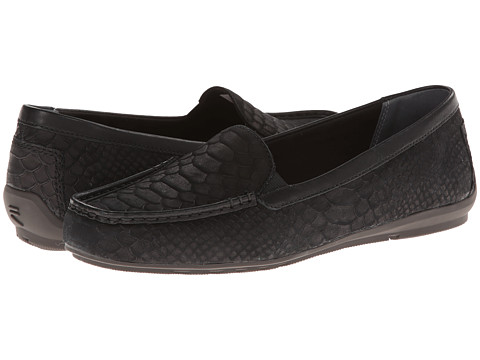 Rockport - Total Motion Driver Moccasin (Black 4) Women