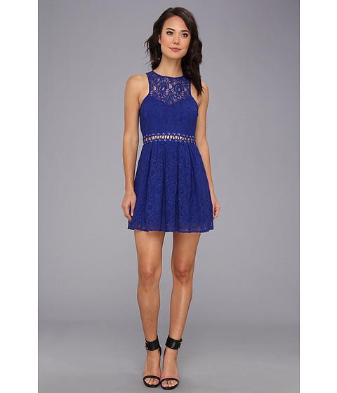 StyleStalker - Block Party Dress (Electric Blue) Women's Dress