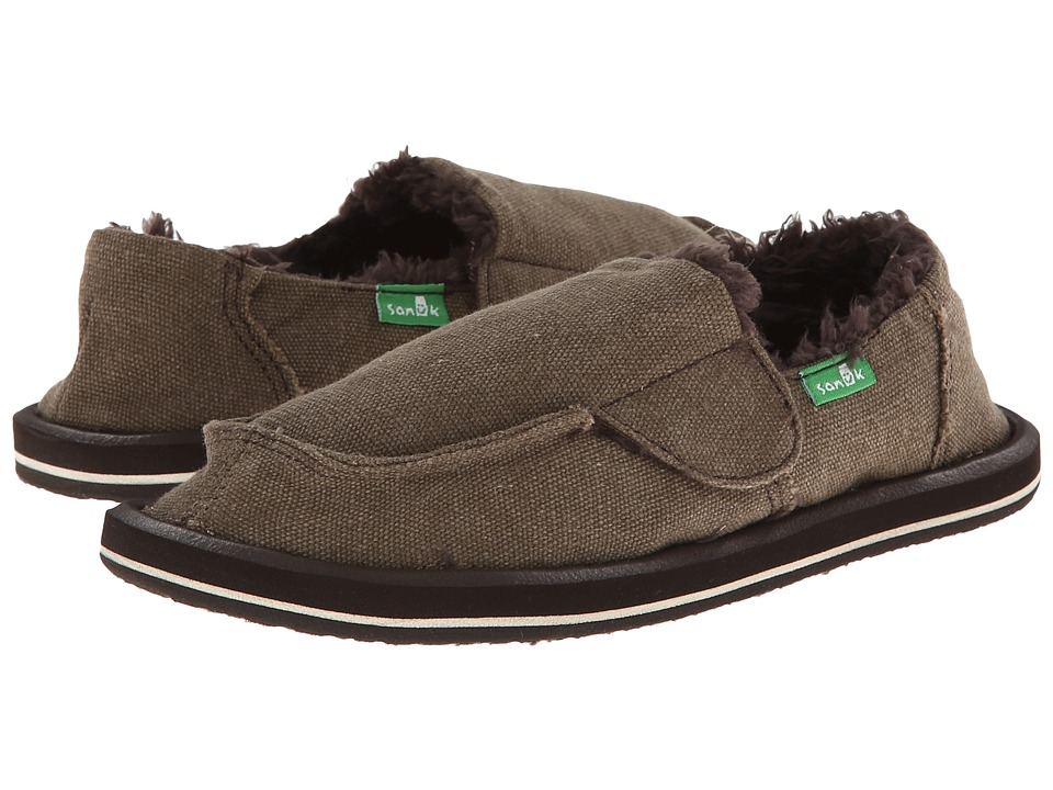 Sanuk Kids - Vagabond Chill (Toddler/Little Kid) (Brown) Boys Shoes