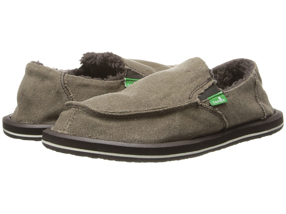 Sanuk Kids - Vagabond Chill (Little Kid/Big Kid) (Brown) Boys Shoes