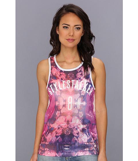 StyleStalker - New Edition Tank (Pink) Women's Sleeveless