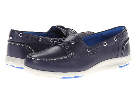 Rockport - TWZ II Boat Shoe (Peacoat) Women