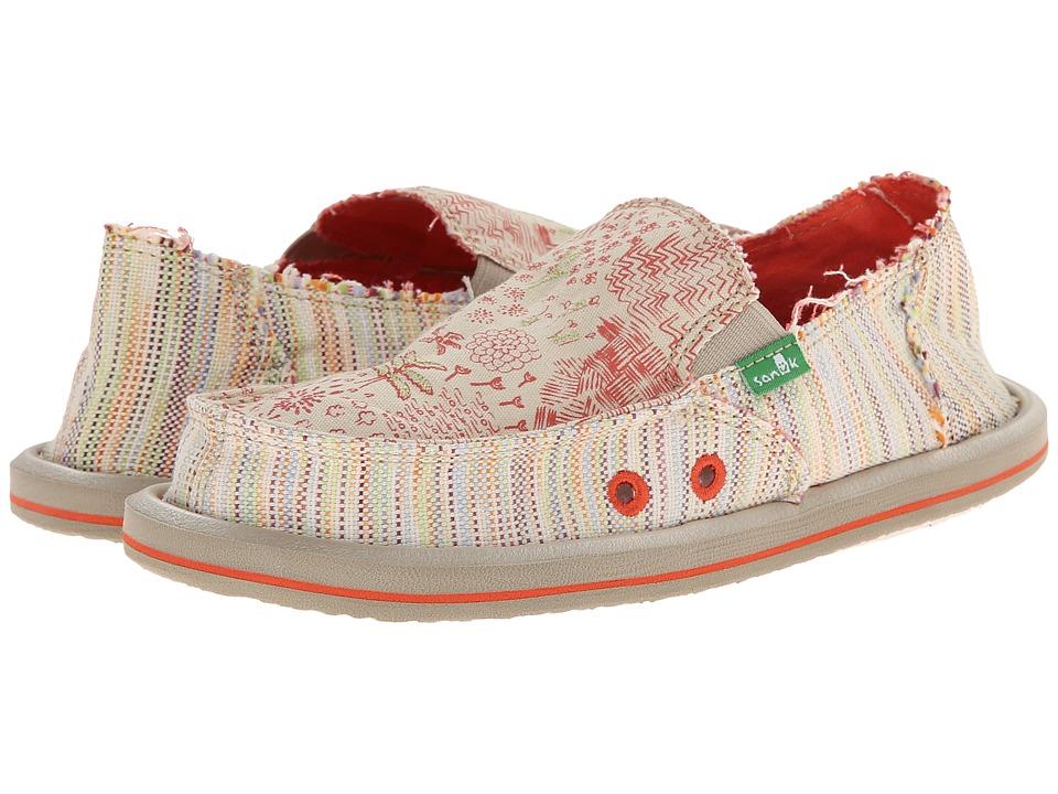 Sanuk Kids - Scribble II (Little Kid/Big Kid) (TPC) Girls Shoes