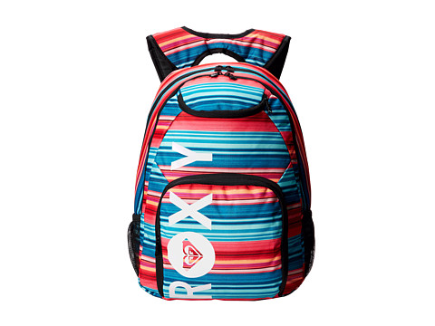 Roxy - Shadow Swell Printed Backpack (Big Kids) (Coast) Backpack Bags