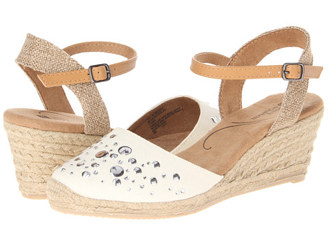 White Mountain - Solar (Natural) Women's Wedge Shoes