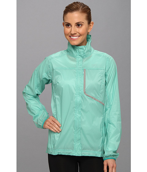 Apparel-Helly Hansen W Speed Jacket (Light Turquoise) Girl's Coat