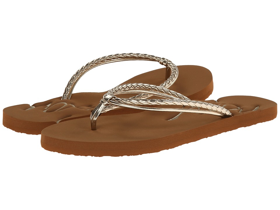 Roxy - Lanai (Gold) Women's Sandals