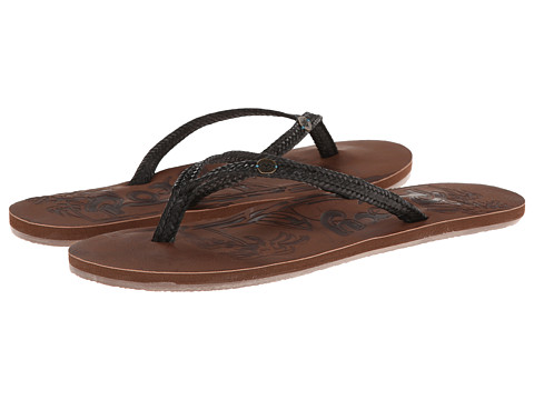 Roxy - Chia (Black) Women's Sandals