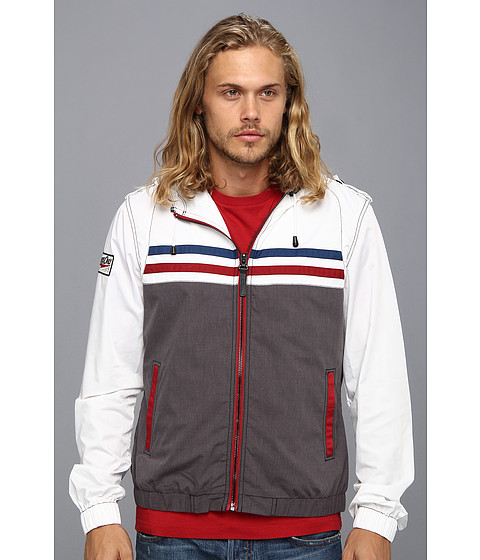 Members Only - Speedboater (White) Men's Coat