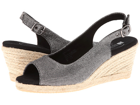 White Mountain - Schmoozy (Black Glitter) Women's Shoes