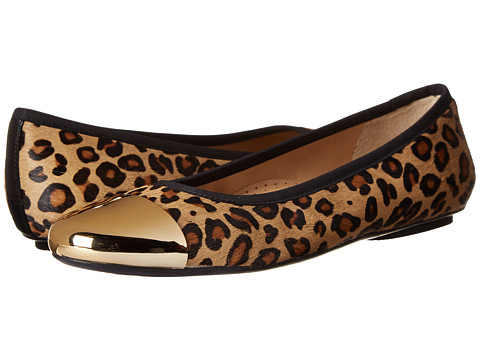 Vaneli - Scooby (Camel Dino Hair Calf/Black Elastic/Gold Tip) Women
