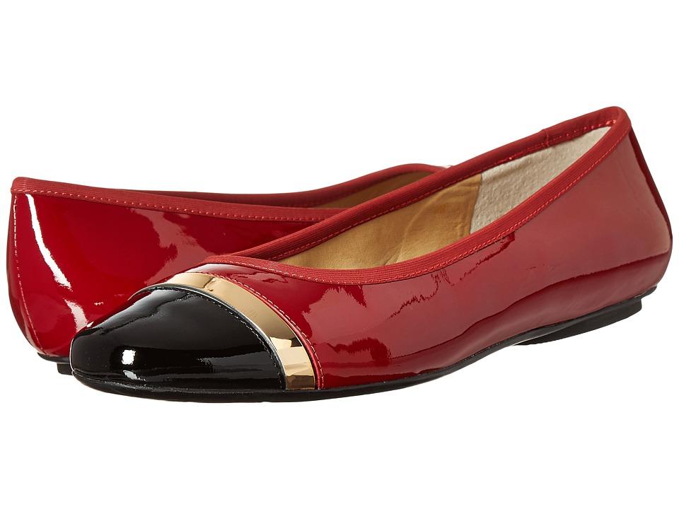 Vaneli - Sebelie (Dark Red Mag Pat/Black Mag Pat/Mtch Elastic) Women's Shoes