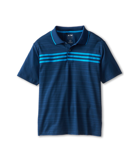 adidas Golf Kids - Performance 3-Stripes Chest Polo (Little Kids/Big Kids) (Dark Blue) Boy's Short Sleeve Pullover