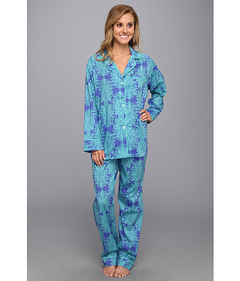 BedHead - Voile Classic PJ (Blue Royalty) Women's Pajama Sets