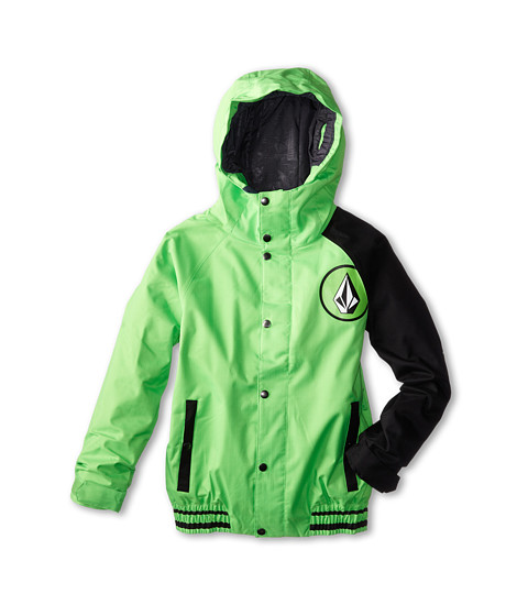 Volcom Kids - Supernatural Insulated Jacket (Little Kids/Big Kids) (Electric Green) Boy's Coat