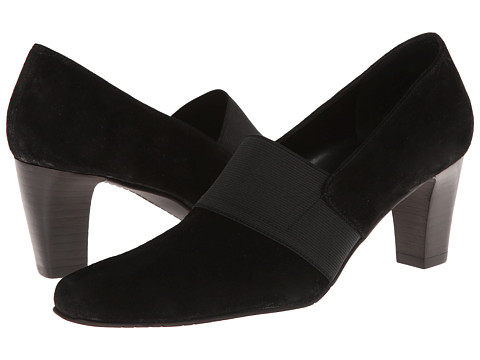 Vaneli - Sunny (Black Nival Suede/Mtch Elastic) Women's Shoes