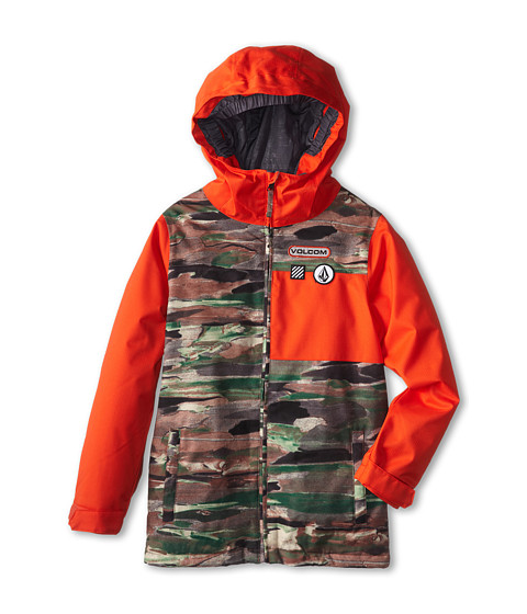 Volcom Kids - Aftermath Insulated Jacket (Little Kids/Big Kids) (Camouflage) Boy's Coat