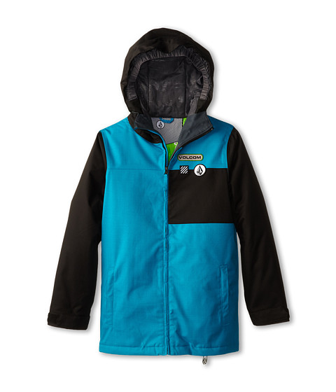 Volcom Kids - Aftermath Insulated Jacket (Little Kids/Big Kids) (Cyan) Boy