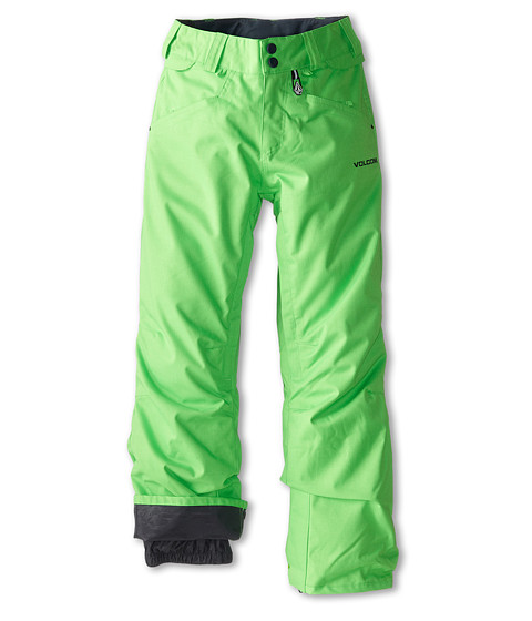 Volcom Kids - Battlefield Insulated Pant (Little Kids/Big Kids) (Electric Green) Boy